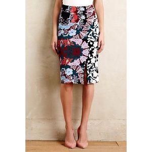 Anthropologie Maeve Tearoom skirt, S Petite, EUC